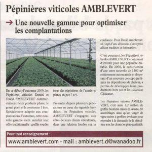 Avenir Agricole 6 nov 2009